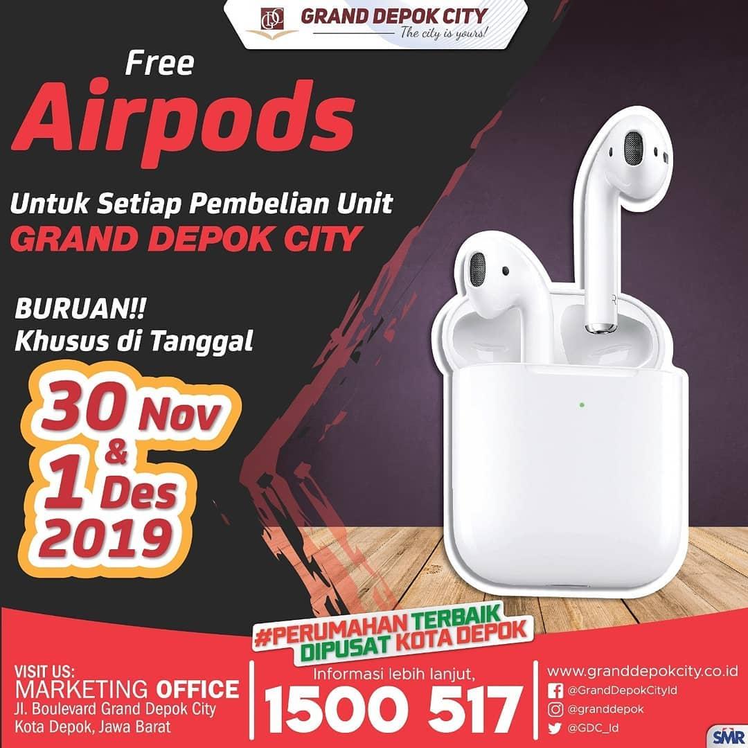 airPods Gratis Untuk Anda!