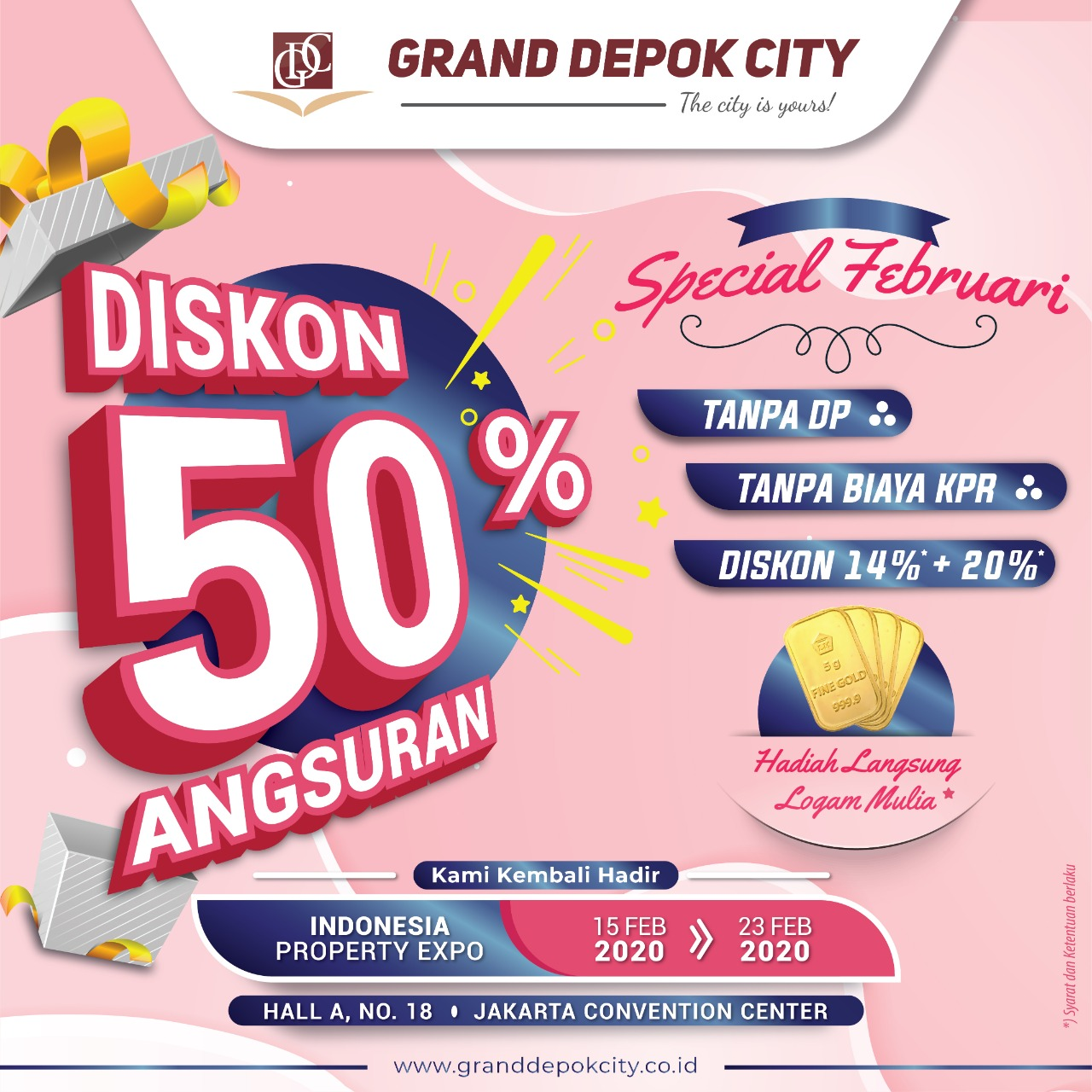 Special Februari Diskon 50%